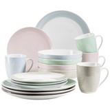 Kombiservice Kitchen Time II 16-Tlg. - Beige/Rosa, Basics, Keramik (31,5/31,5/33,5cm)