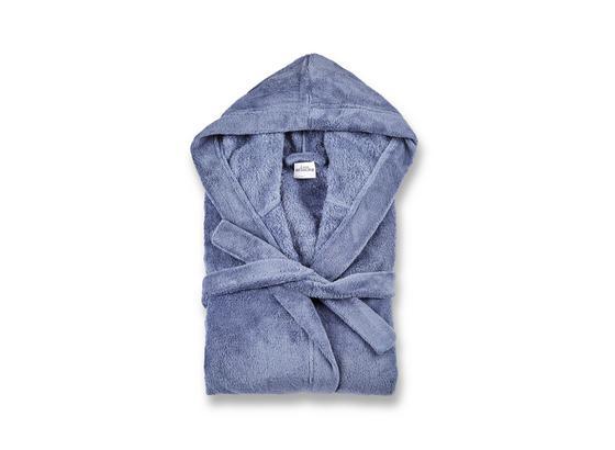 Bademantel Carmen - Blau, MODERN, Textil (S-XLnull) - Luca Bessoni
