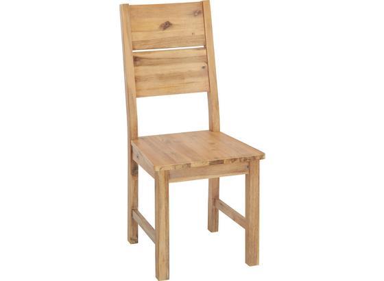 Stolička Aruba - farby akácie, Konvenčný, drevo (46/100/55cm) - Zandiara