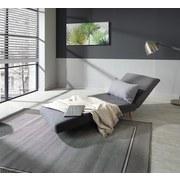 Schlafsofa Simon - Hellgrau/Naturfarben, MODERN, Holz/Textil (77/84/91cm) - Ombra