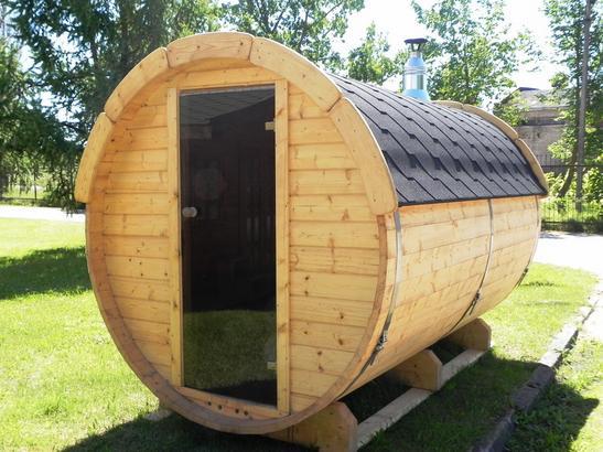 Saunafass für den Garten