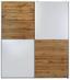 Tolóajtós Szekrény Puls - Tölgyfa/Fehér, konvencionális, Faalapú anyag (170/195,5/58,5cm)