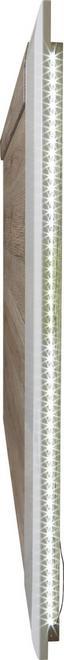 Tv Nástavec Toronto - bílá/barvy dubu, Moderní, dřevěný materiál (140/93/4,4cm) - Ombra