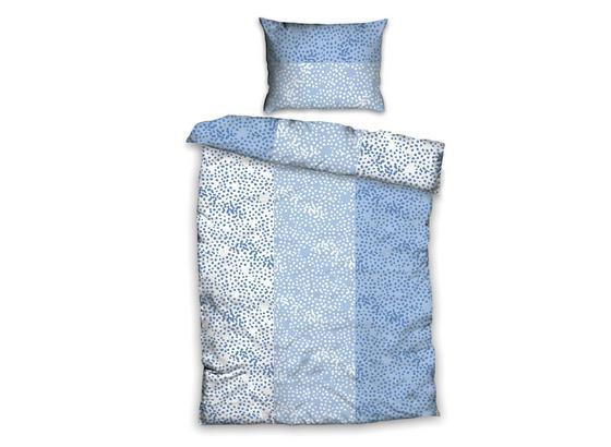 Posteľná Bielizeň Greta - modrá/biela, Basics, textil (140/200cm)