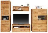 Doporučená Kombinace Tizio 3 - šedá/barvy dubu, Moderní, kompozitní dřevo (292/206/50cm)