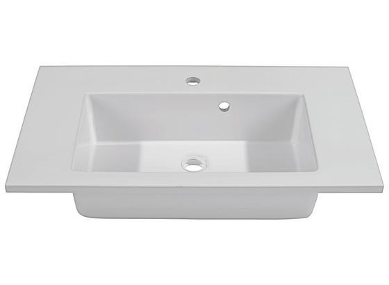 Umývadlo Denia - biela, Moderný (75/16/46cm)