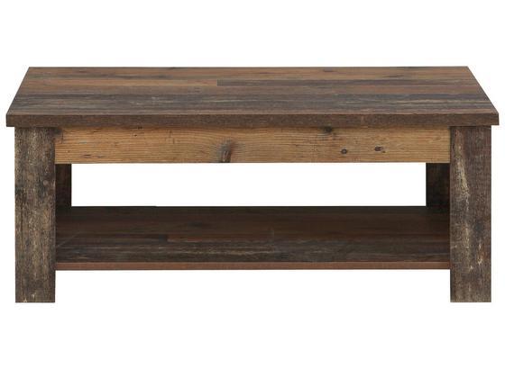Konferenční Stolek Clif - Moderní, kov/kompozitní dřevo (110/46/65cm)