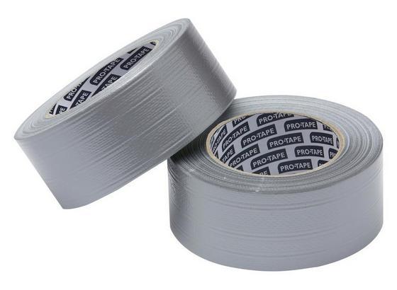 Allzweck Gewebeband Silber - Silberfarben, KONVENTIONELL, Kunststoff (5000cm) - Gebol