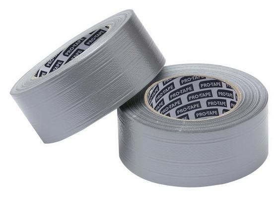 Rögzítőszalag 654150 - ezüst színű, konvencionális, műanyag (5000cm)