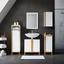 Skrinka Rico - prírodné farby/biela, Moderný, drevo (32/30,5/77cm) - Modern Living