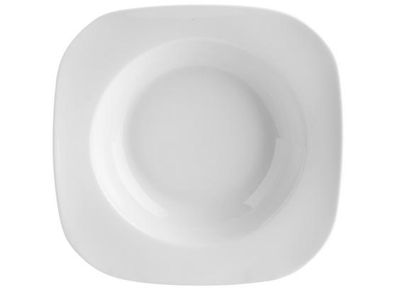 Talíř Na Polévku Sid - bílá, Moderní, keramika (24/20,8/3,9cm) - Mömax modern living