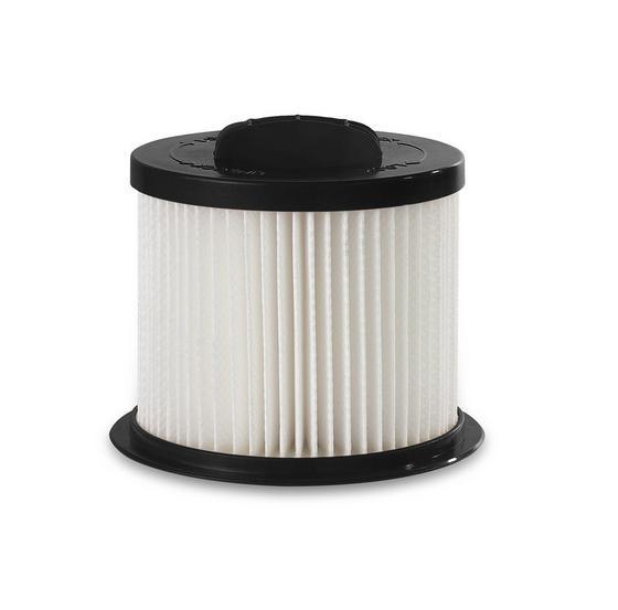 Hepa-filter Schiny - Schwarz/Weiß, KONVENTIONELL, Kunststoff (9/8,6cm) - Bono