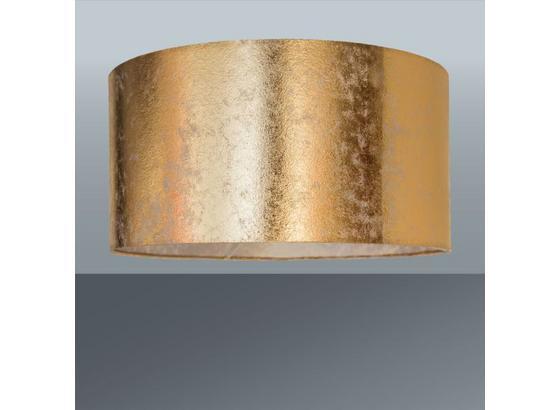 Stínidlo Svítidla Goldi - barvy zlata, Lifestyle, kov/textil (40/20cm) - Mömax modern living