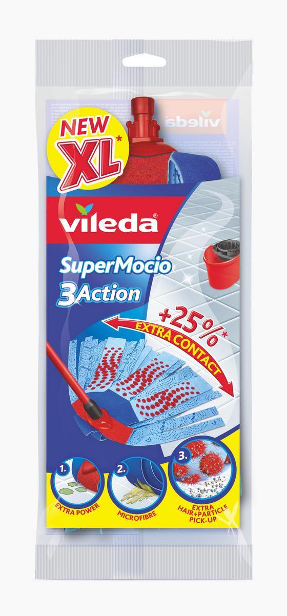 Potah Na Mop Supermocio 3 Action - Konvenční, textil/umělá hmota