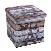 Skládac Box Setta 2 - Moderní, dřevěný materiál/umělá hmota (37/37/37cm)