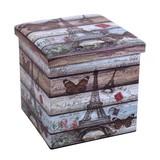Skladací Box Setta 2 - Moderný, umelá hmota/drevený materiál (37/37/37cm)