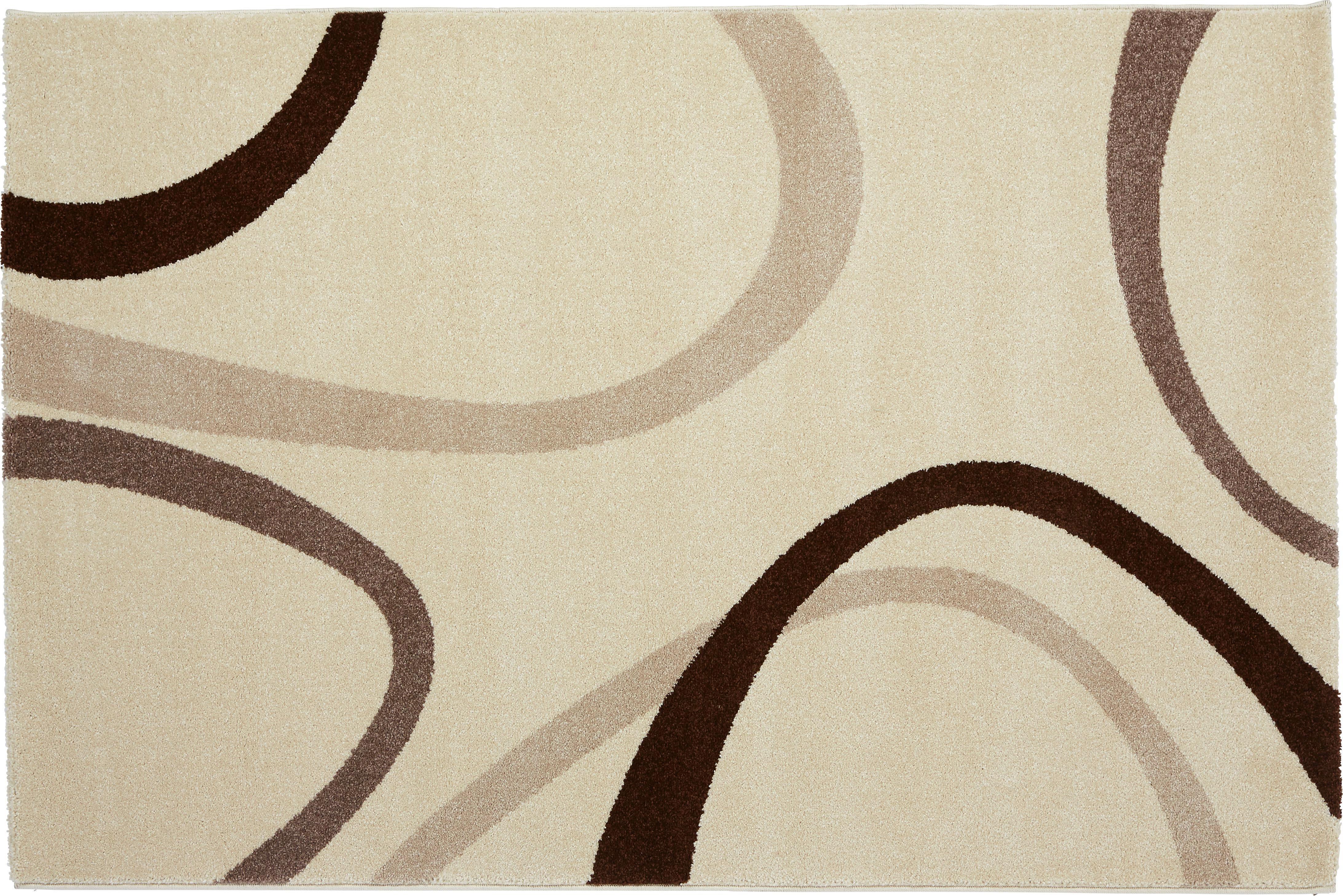 Szőnyeg Joyce - bézs, konvencionális, textil (160/230cm) - OMBRA