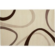 Webteppich Joyce 160x230 cm - Beige, KONVENTIONELL, Textil (160/230cm) - OMBRA