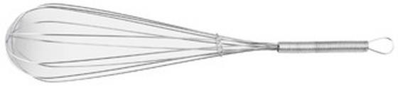 Habverő Ezüst Színű - ezüst színű, konvencionális, fém (30cm)