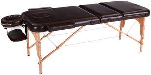 Massageliege Wooden B: 70 cm Buche - Braun, MODERN, Holz/Holzwerkstoff (185/70/62-85cm) - Ombra