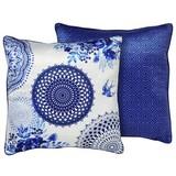 Zierkissen-doubleface Grande - Blau, MODERN, Textil (48/48cm)