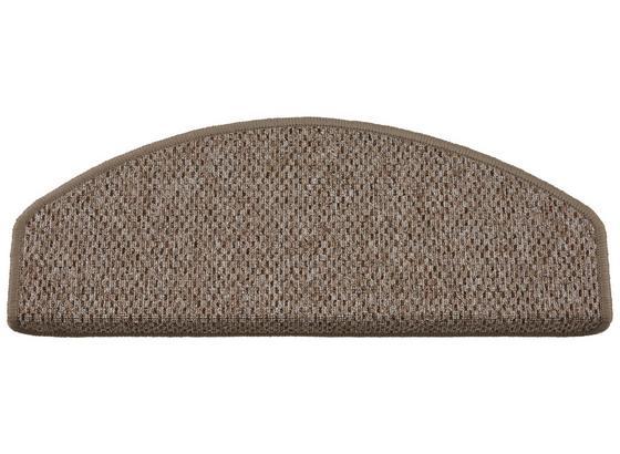 Schodový Nášľap Seattle 2 - béžová, Basics, textil (65/28cm) - Modern Living