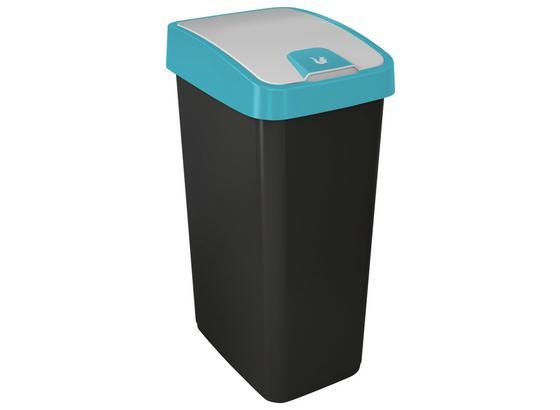 Abfalleimer Magne - Blau/Graphitfarben, Kunststoff (40/30/61,5cm)