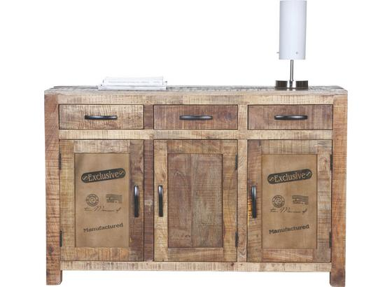 Komoda Sideboard Industry - přírodní barvy, Basics, dřevo (130/86/42cm) - James Wood