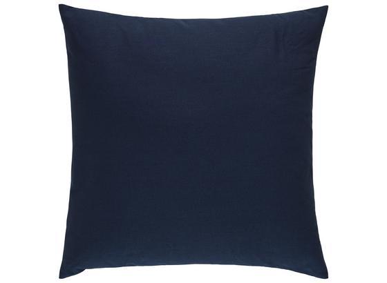 Dekoračný Vankúš Cenový Trhák - tmavomodrá, textil (50/50cm) - Based