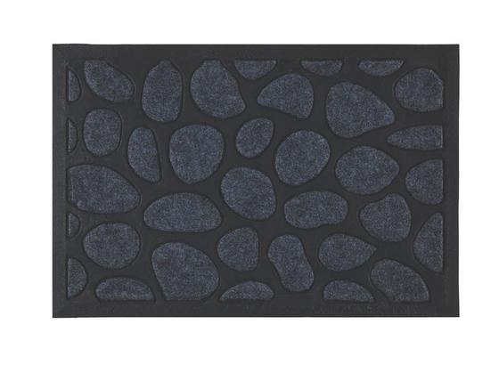 Rohožka Stone - čierna/sivá, Konvenčný, textil (40/60cm) - Mömax modern living