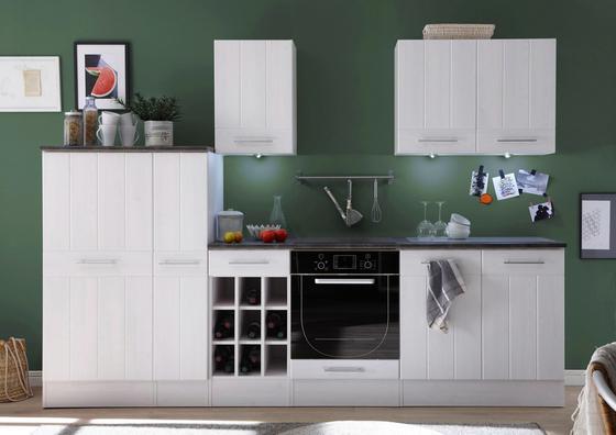 Küchenblock welcome landhaus 1 weiß modern holzwerkstoff 285 206 60cm