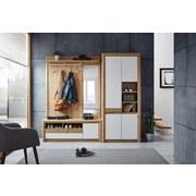 Garderobenkombination Kashmir New 8 - Eichefarben/Weiß, MODERN, Holzwerkstoff (214/192/41cm) - James Wood