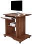 Písací Stôl Olin - tmavohnedá, Moderný, kompozitné drevo (78/75/50cm)