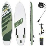 Stand-Up Paddle Board Kahawai L: 310 cm Grün/Weiß - Weiß/Grün, MODERN, Kunststoff (310/86/15cm) - Bestway