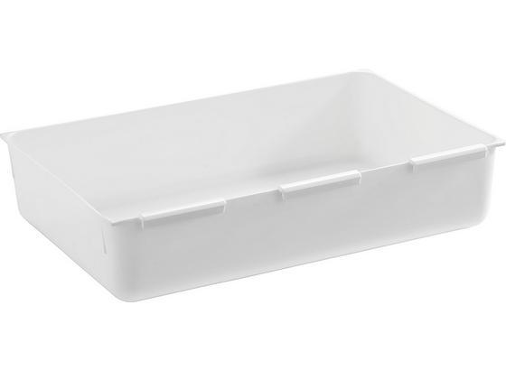 Príborník Wanda - biela, plast (14,9/22,4cm)