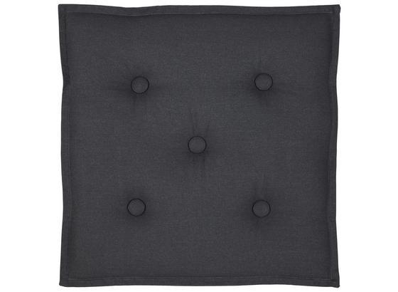 Sitzkissen Lore - Grau, MODERN, Textil (40/40cm) - Ombra