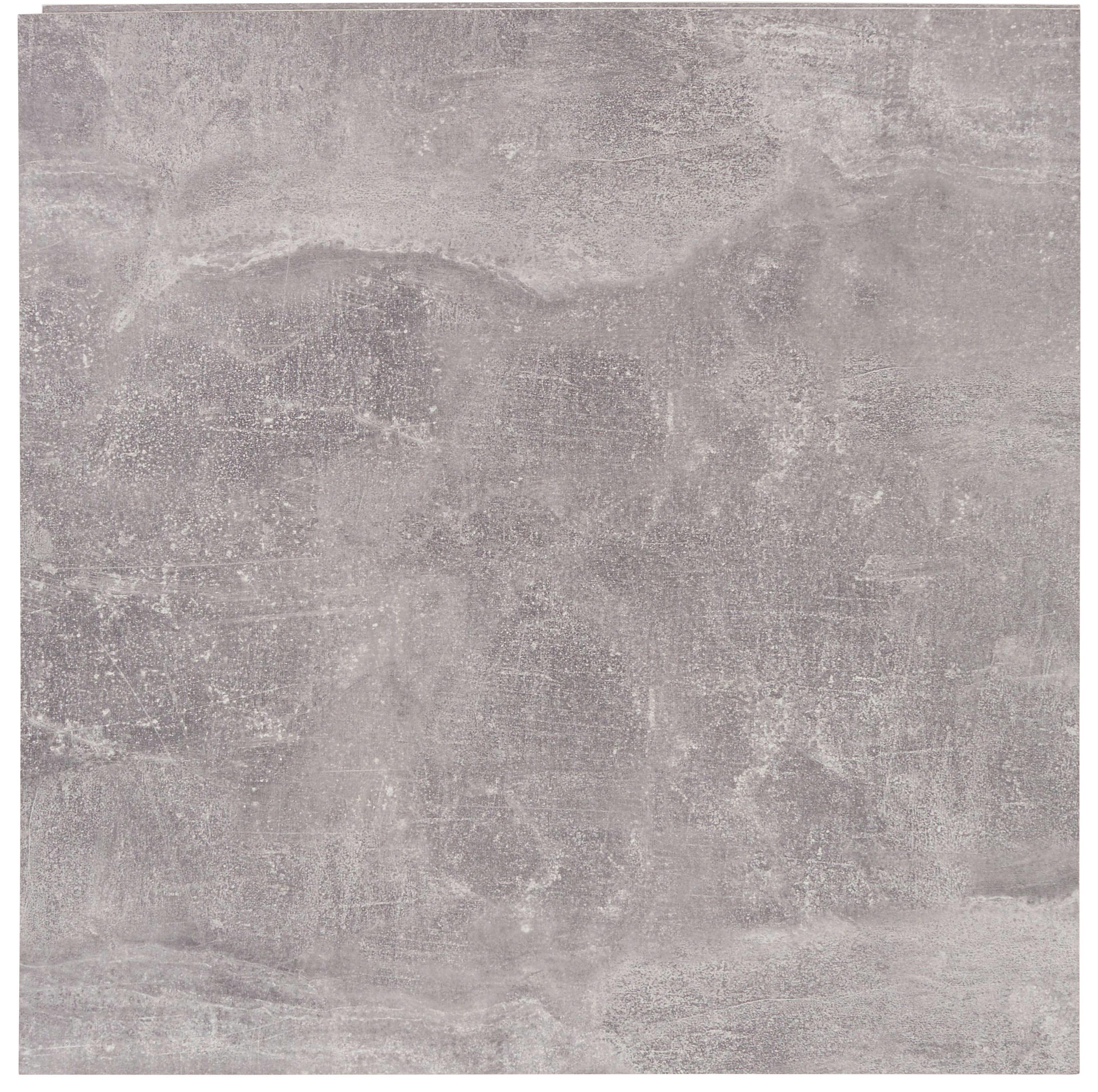 Regál Nástěnný Geno Ger01 - šedá, Moderní, dřevěný materiál (50/51/28cm)