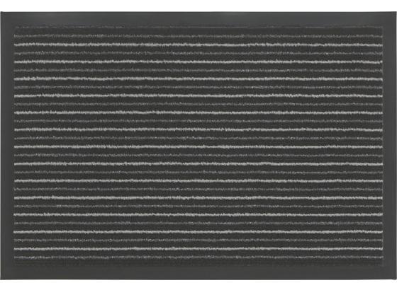 Rohožka Tango - čierna/sivá, Konvenčný, textil (40/60cm) - Mömax modern living