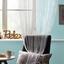 Provázková Záclona Cenový Trhák - modrá/zelená, Konvenční, textil (90/200cm) - Based