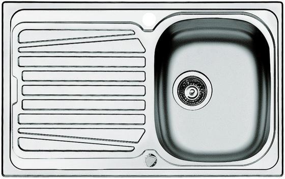 Dřez Ušlechtilá Ocel 117301 - Design, kov (79/50cm)