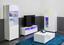 TV-Element Newport 120cm Weiss - Weiß, MODERN, Holzwerkstoff (120/44cm)