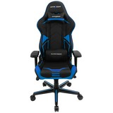 Gamingstuhl Dxracer Racing V2 Schwarz/blau - Blau/Schwarz, MODERN, Kunststoff/Textil (67/122-132/67cm) - Dxracer