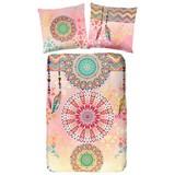 Wendebettwäsche Vilastre 140/200cm Multicolor - Multicolor, MODERN, Textil