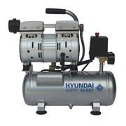 Druckluftkompressor SAC55751 - Silberfarben, KONVENTIONELL, Metall (35/42/41cm) - Hyundai