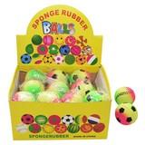 Spielball Sortiert - Multicolor, KONVENTIONELL, Kunststoff (6cm)