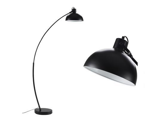 Stojacia Lampa Recife - čierna, Štýlový, kov (79/168cm) - Mömax modern living