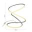 Stolová Lampa Reggie Led - biela/strieborná, Moderný, kov/plast (26/26/35cm) - Modern Living