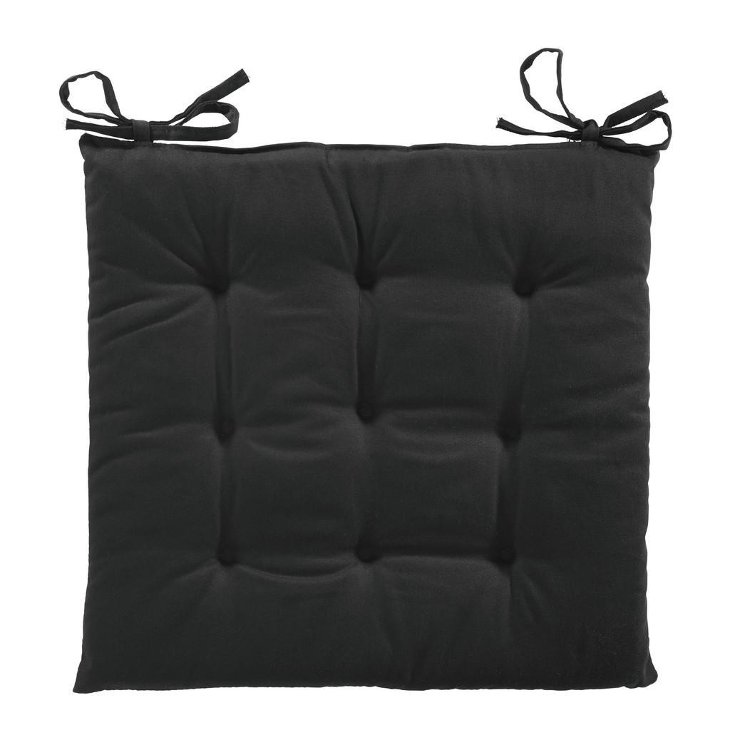 Poduška Na Sedenie Lola-Based- 40/40/2cm, Čierna