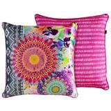 Zierkissen-doubleface Bolengo - Pink/Multicolor, MODERN, Textil (48/48cm)