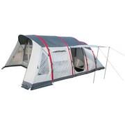 Zelt Sierra Ridge Air Pro X6 Tent - Dunkelgrau/Rot, MODERN, Kunststoff/Textil (640/390/225cm) - Bestway